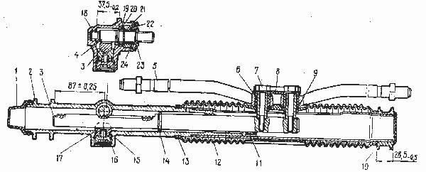 Схема рейки рулевой на ваз 2112