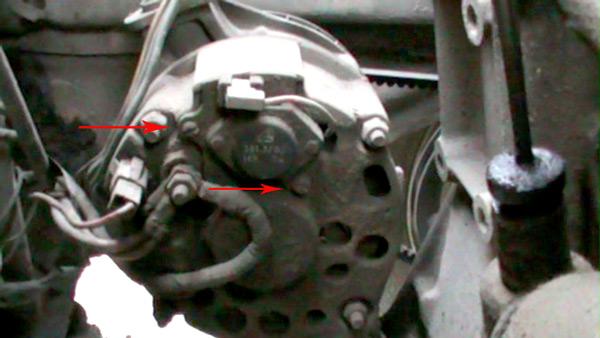 Фото №1 - замена таблетки генератора ВАЗ 2110